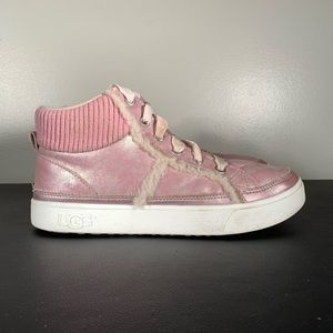 UGG Addie High Top Lace Up Sneakers